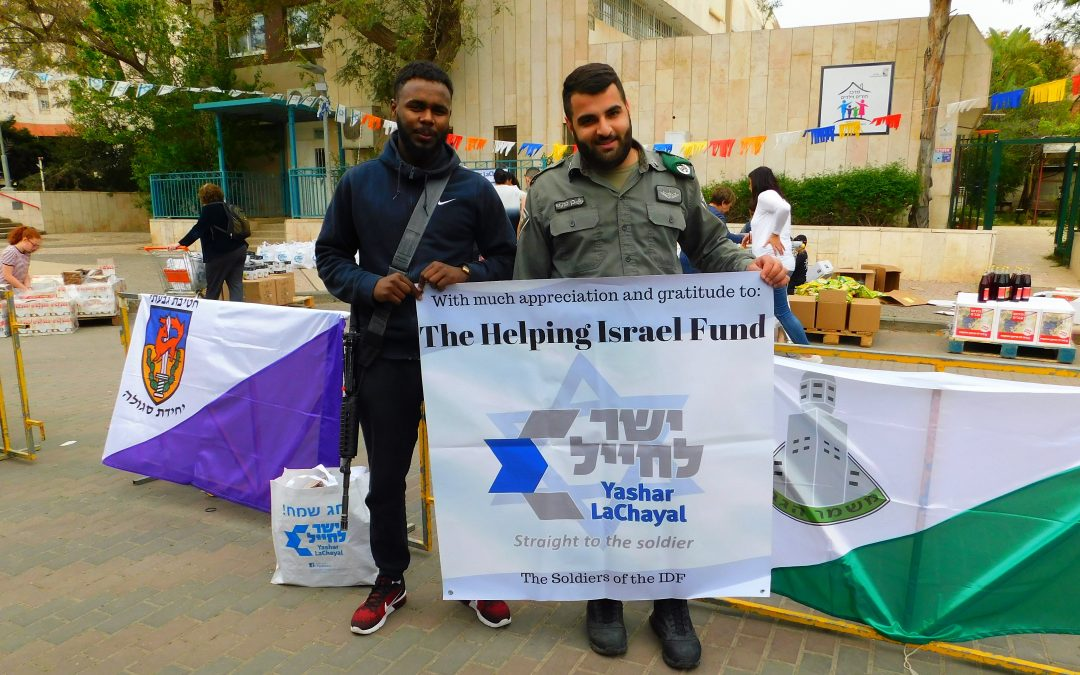 Helping Needy Soldiers Celebrate Passover
