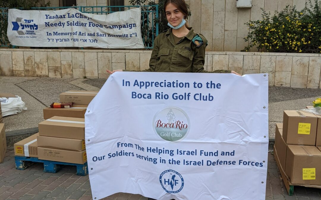 Food Packages for Needy Soldiers for Passover